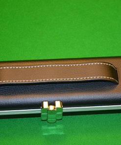 Black three quarter Halo Cue Case