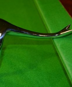 Chrome Swan Neck Rest Head 1
