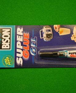 Cue Tip Super Glue Gel - Snooker Crazy