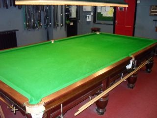 Snooker Crazy - Recover Snooker Table - Snooker Cloth