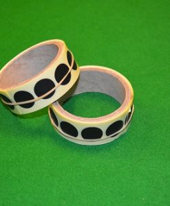 Black Snooker Table Spots Roll 1