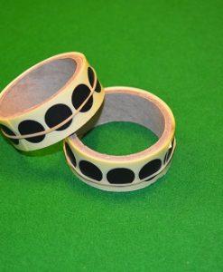 Black Snooker Table Spots Roll 1