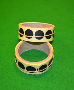 Black Snooker Table Spots Roll