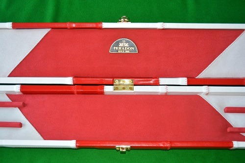 Snooker Crazy - Genuine Leather Case for Jointed Cue and Extension 1