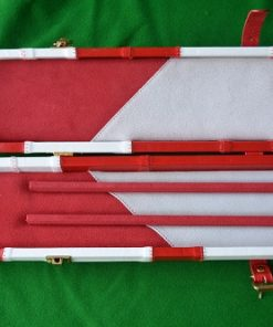 Snooker Crazy – Genuine Leather Case for Jointed Cue and Extension 2