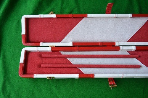 Snooker Crazy - Genuine Leather Case for Jointed Cue and Extension 2