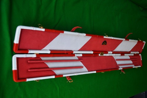 Snooker Crazy - Genuine Leather Case for Jointed Cue and Extension 3