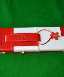 Snooker Crazy – Genuine Leather Case for Jointed Cue and Extension 4