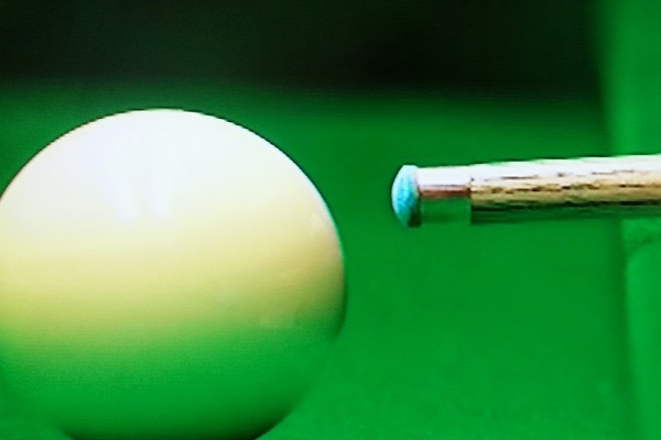Professional Snooker Player Tip Shapes - Ali Carter