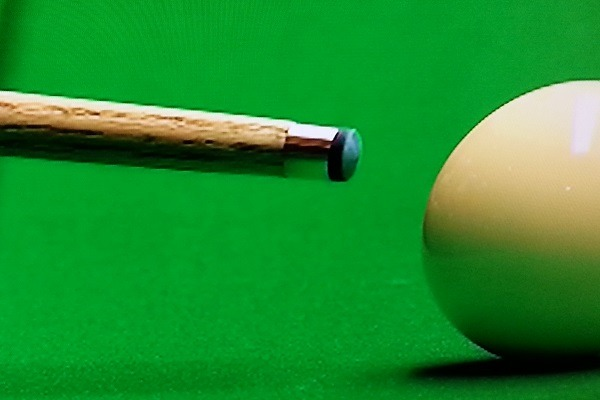 Professional Snooker Player Tip Shapes - David Grace