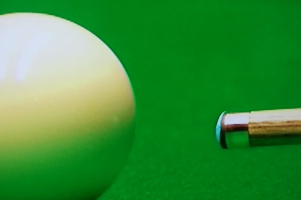 Professional Snooker Player Tip Shapes - Rory McLeod