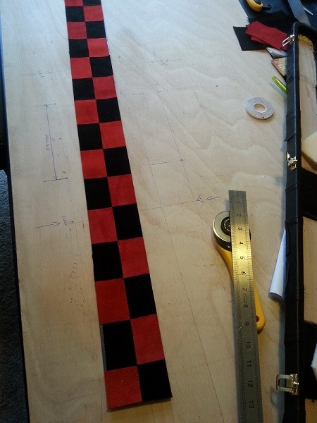 Snooker Crazy - Making a Leather Snooker Case 19