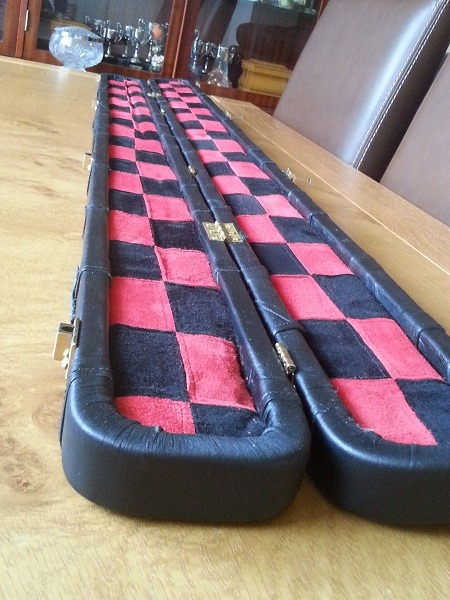 Snooker Crazy - Making a Leather Snooker Case27