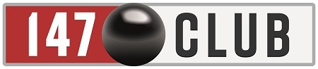 147 Club Logo - Snooker