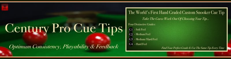Century Pro Snooker Cue Tips - Snooker Crazy 6