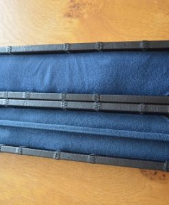 Black One Piece Leatherette Cue Case 3Black One Piece Leatherette Cue Case 3