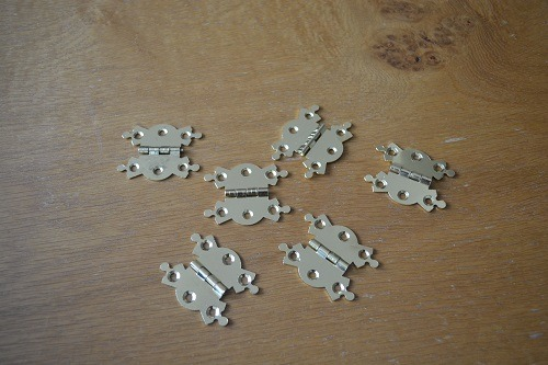Brass Butterfly Snooker Case Hinges