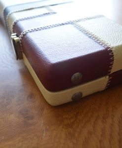Solid three quarter Leatherette Cue Case 5
