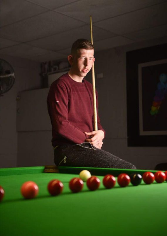 David Church WDBS Pro Snooker Player 2