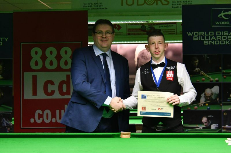 David Church WDBS Pro Snooker Player Profile 3