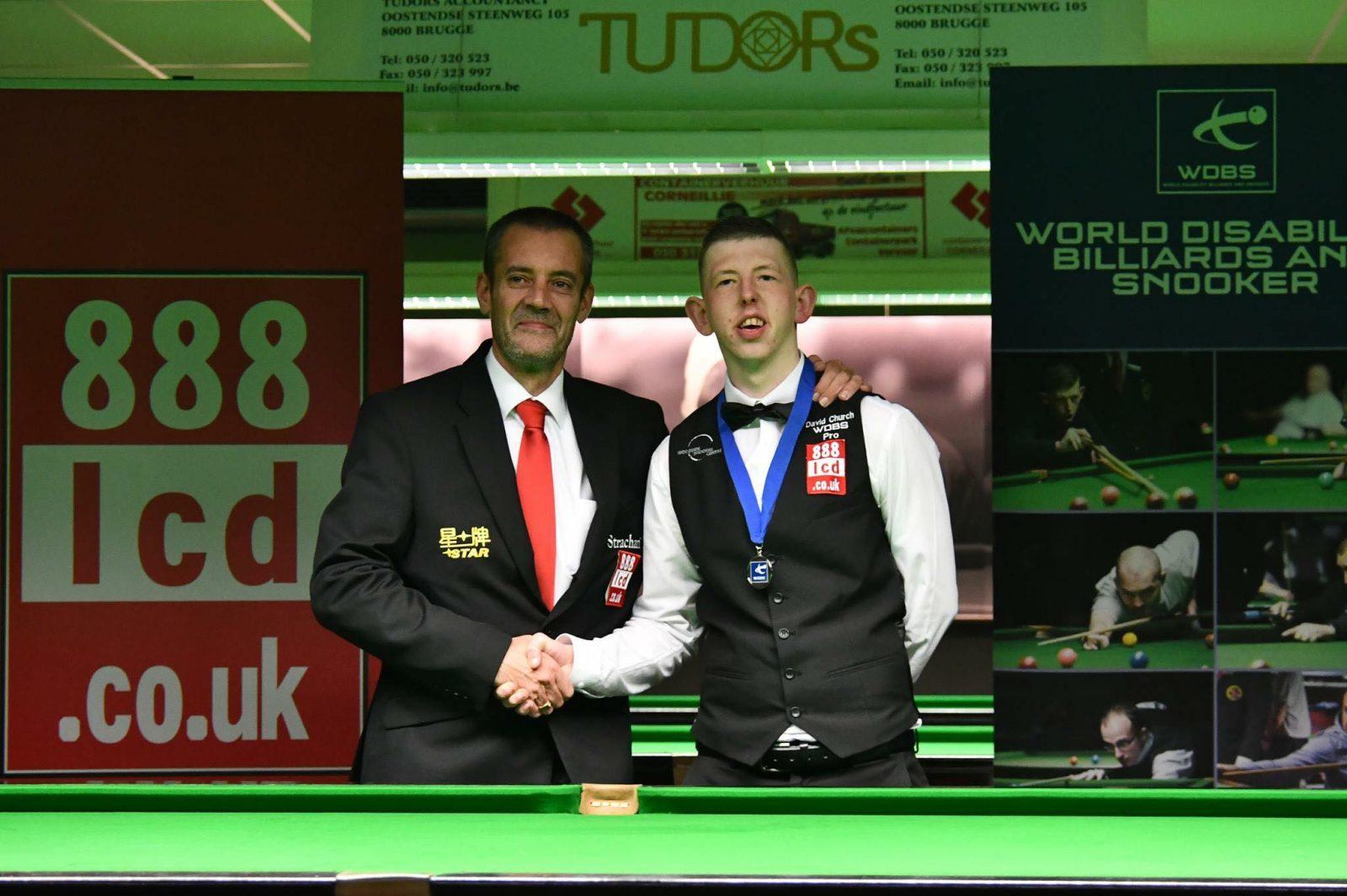 David Church WDBS Pro Snooker Player 1