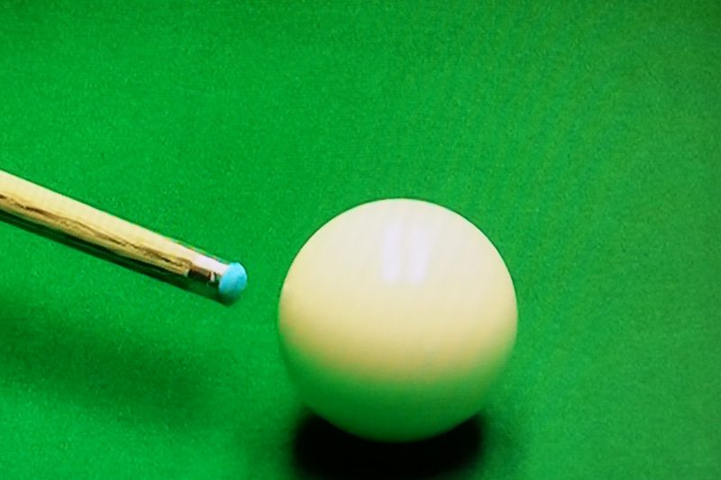 Cue Tip Shapes - Ali Carter
