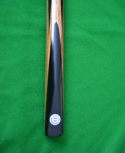 Zebrano Spliced Snooker Cue 4