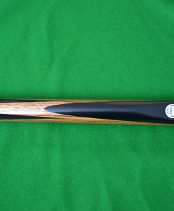 Ebony Zebrano Spliced Snooker Cue 5