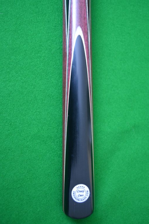 Purple Heart Snooker Cue 3