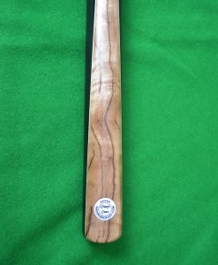 Zebra Wood Top Splice Snooker Cue 1