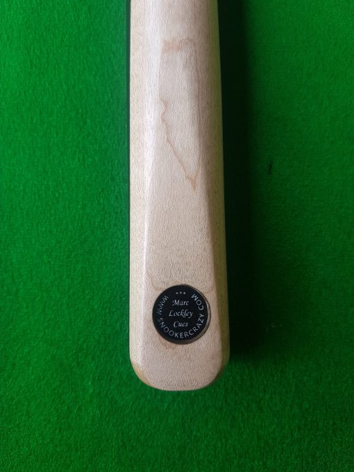 1 Piece Ebony Maple Snooker Cue
