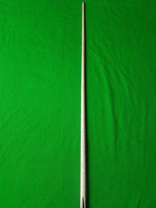 Three Quarter Ebony 4 Spliced White Foxwood Snooker Cue
