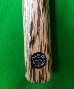 Three Quarter Ebony 4 Spliced White Foxwood Snooker Cue