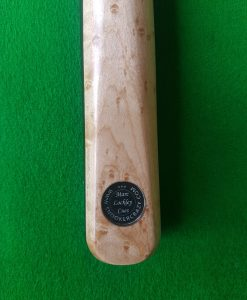 Three Quarter Ebony Birds Eye Maple Snooker Cue
