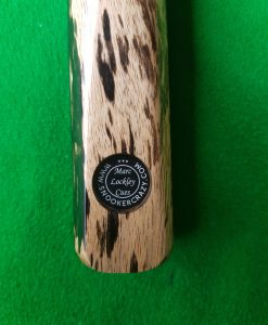 Three Quarter Ebony and White Foxwood Snooker Cue
