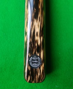 One Piece Black Foxwood Pool Cue CBA4 1