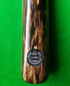 Three Quarter Black Fox wood Pool Cue CBA2 1