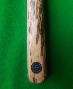 Three Quarter Ebony White Foxwood Snooker Cue CBA13 1