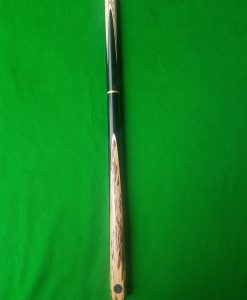 Three Quarter Ebony White Foxwood Snooker Cue CBA13 2