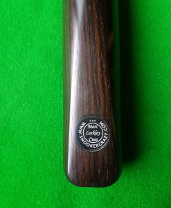 Three Quarter Macassar Ebony Snooker Cue CBA1 1