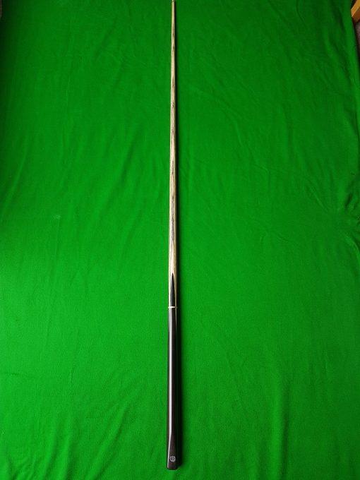 Three Quarter Macassar Ebony Snooker Cue CBA1 3