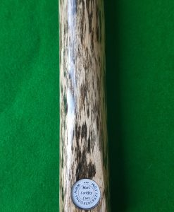 "58"" 9.5mm 1 Piece White Foxwood Ebony Snooker Cue CBA14 2"