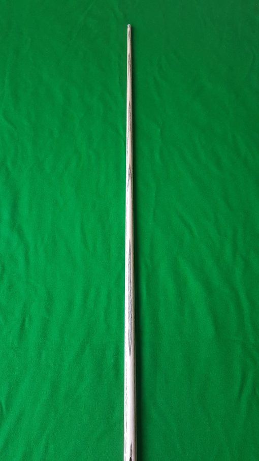 "58"" 9.5mm 1 Piece White Foxwood Ebony Snooker Cue CBA14 4"