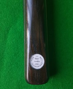 58 Three Quarter Macassar Ebony Snooker Cue CBA17 1