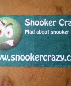 Snooker Crazy Microfibre Cue Towel 1