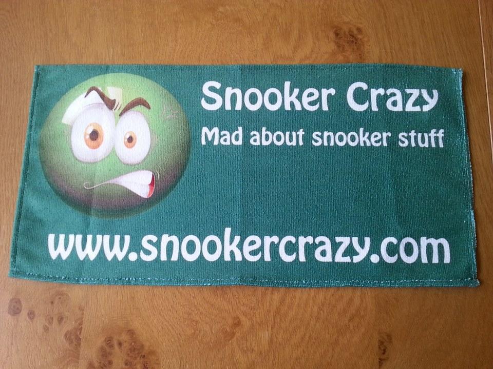 Snooker Crazy Micro Fibre Cue Towel