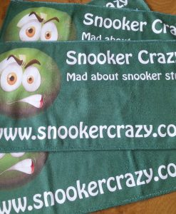 Snooker Crazy Microfibre Cue Towel 2