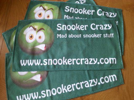 Snooker Crazy Microfibre Cue Towel 2