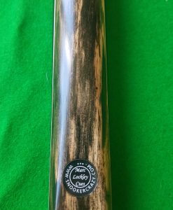 58 Three Quarter Black Foxwood Butt Ebony Snooker Cue 1 - CBA24