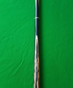 58 Three Quarter Black Foxwood Ebony Snooker Cue 3- CBA23
